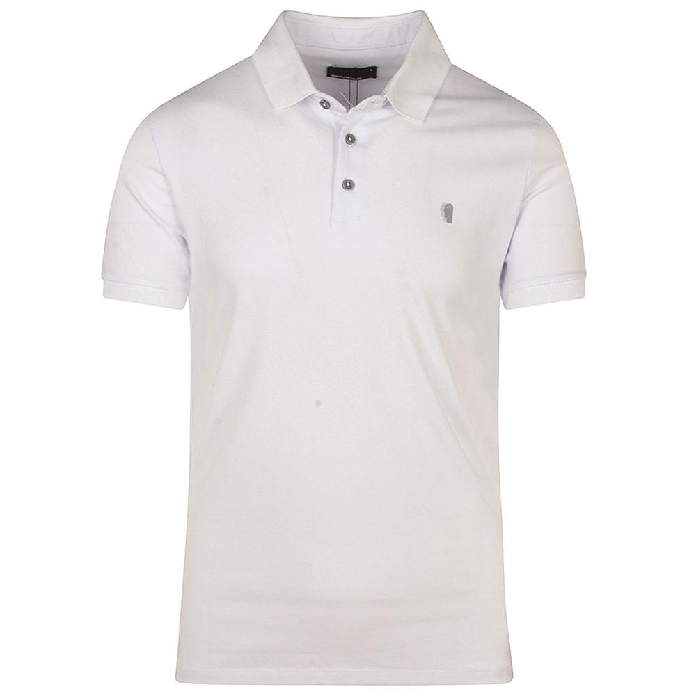 Short Sleeve Polo Shirt in White