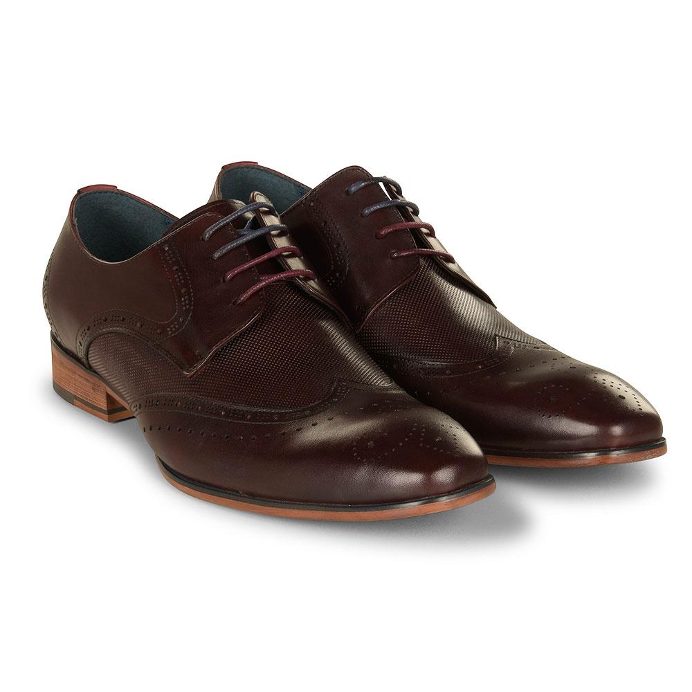 Twickenham Shoe in Burgundy