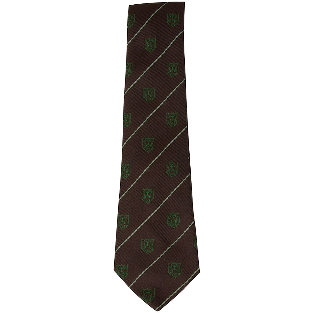 St Louises School Tie in Green