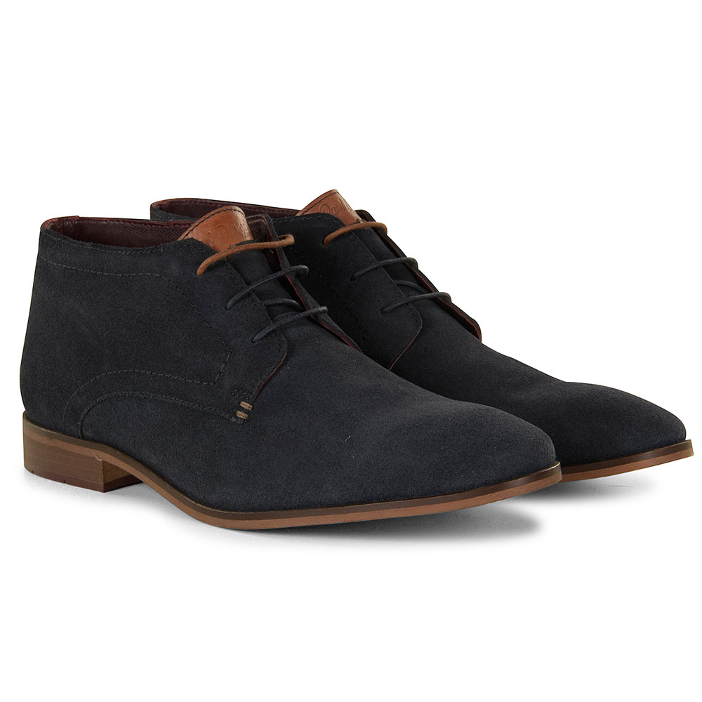 Oakland Ankle Boot in Navy