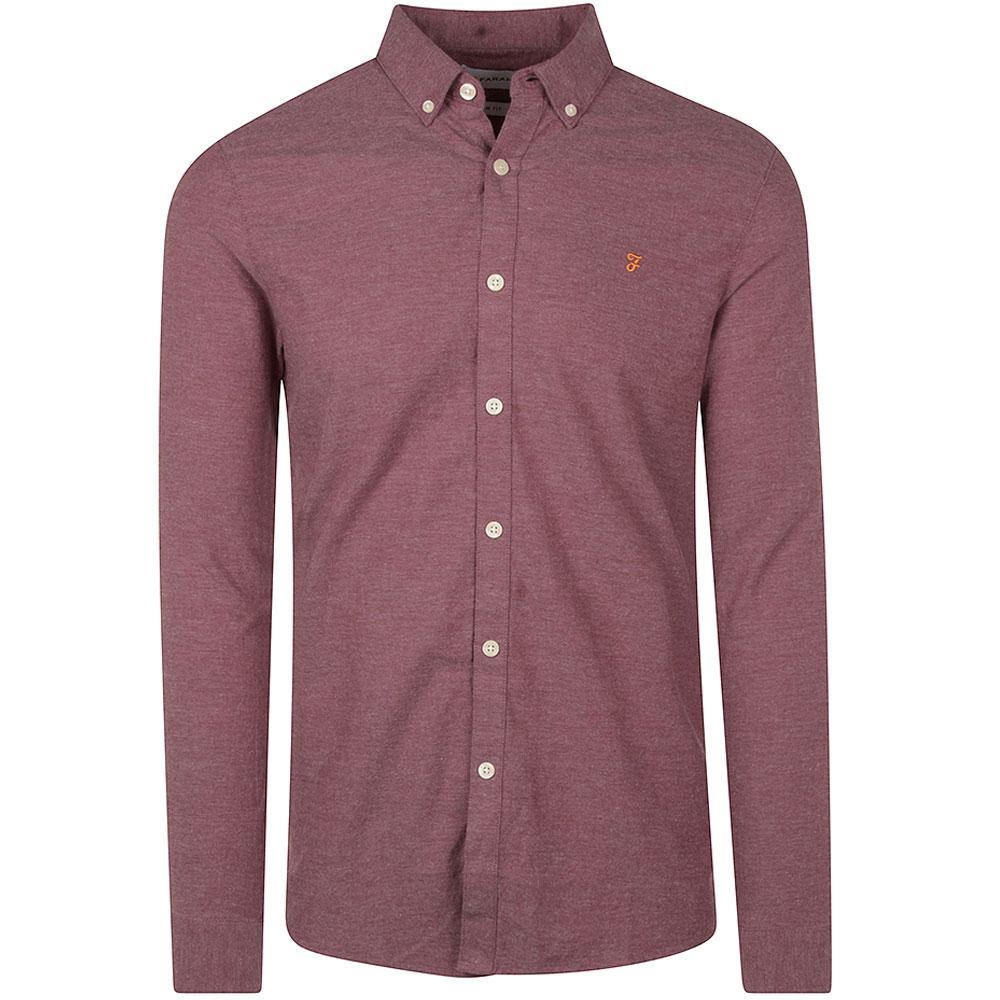 Steen Slim Shirt in Purple