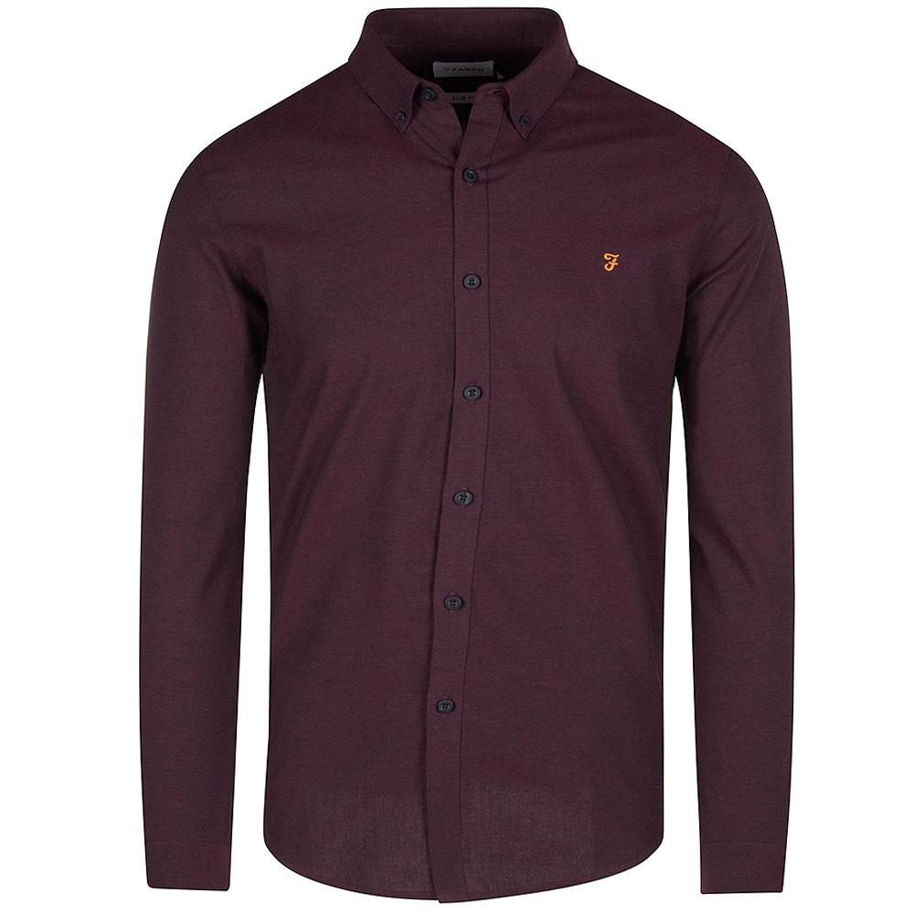 Steen Slim Shirt in Red