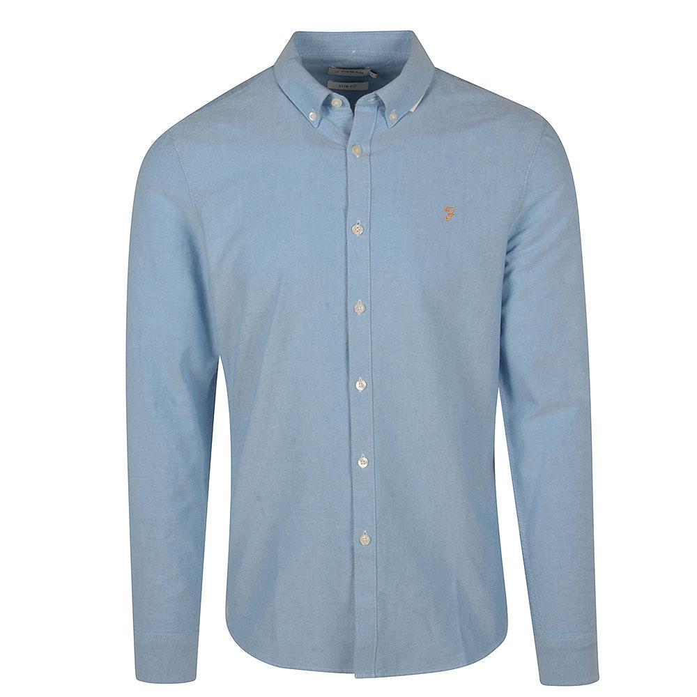 Brewer Slim Shirt in Lt Blue