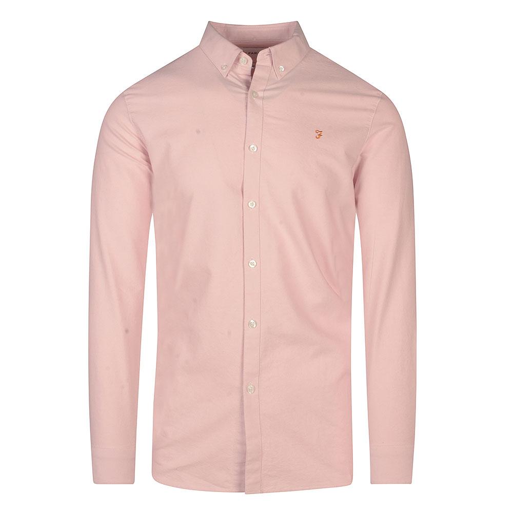 Brewer Slim Shirt in Pink