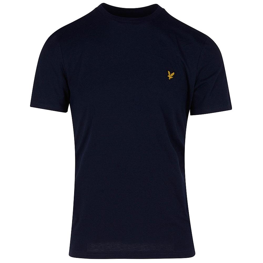 Crew Neck T-Shirt in Navy