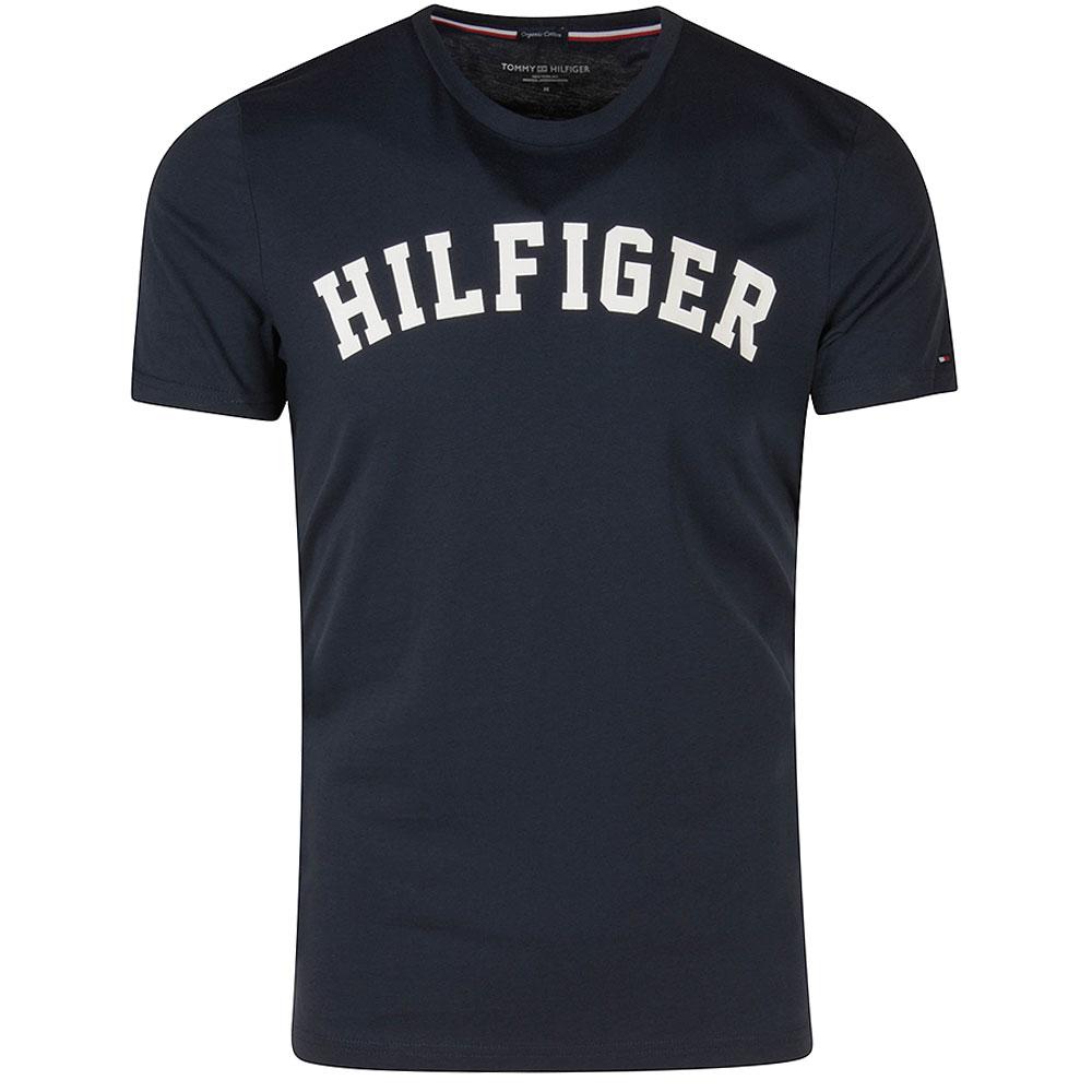 Logo T-Shirt in Navy
