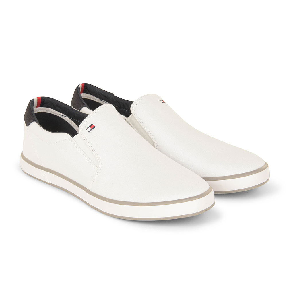 Iconic Slip on Sneaker in White