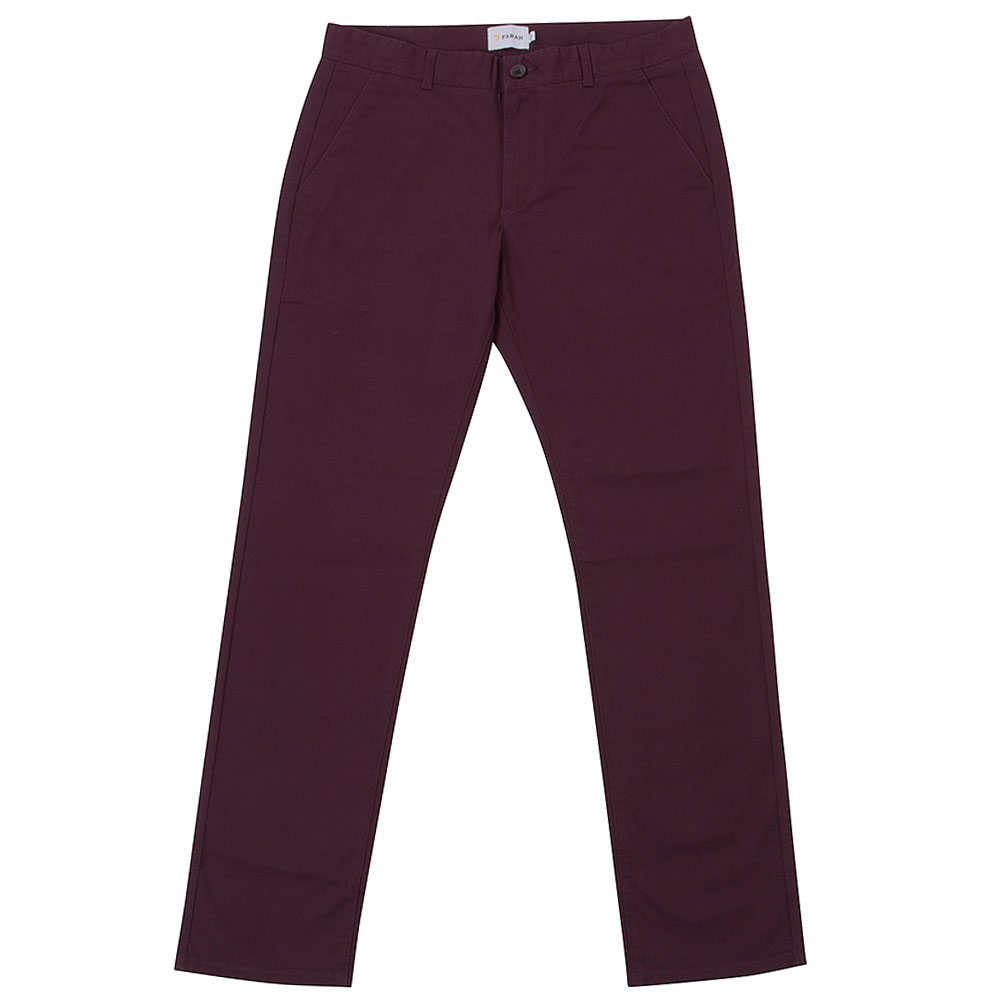 Elm Regular Twill Chino in Red