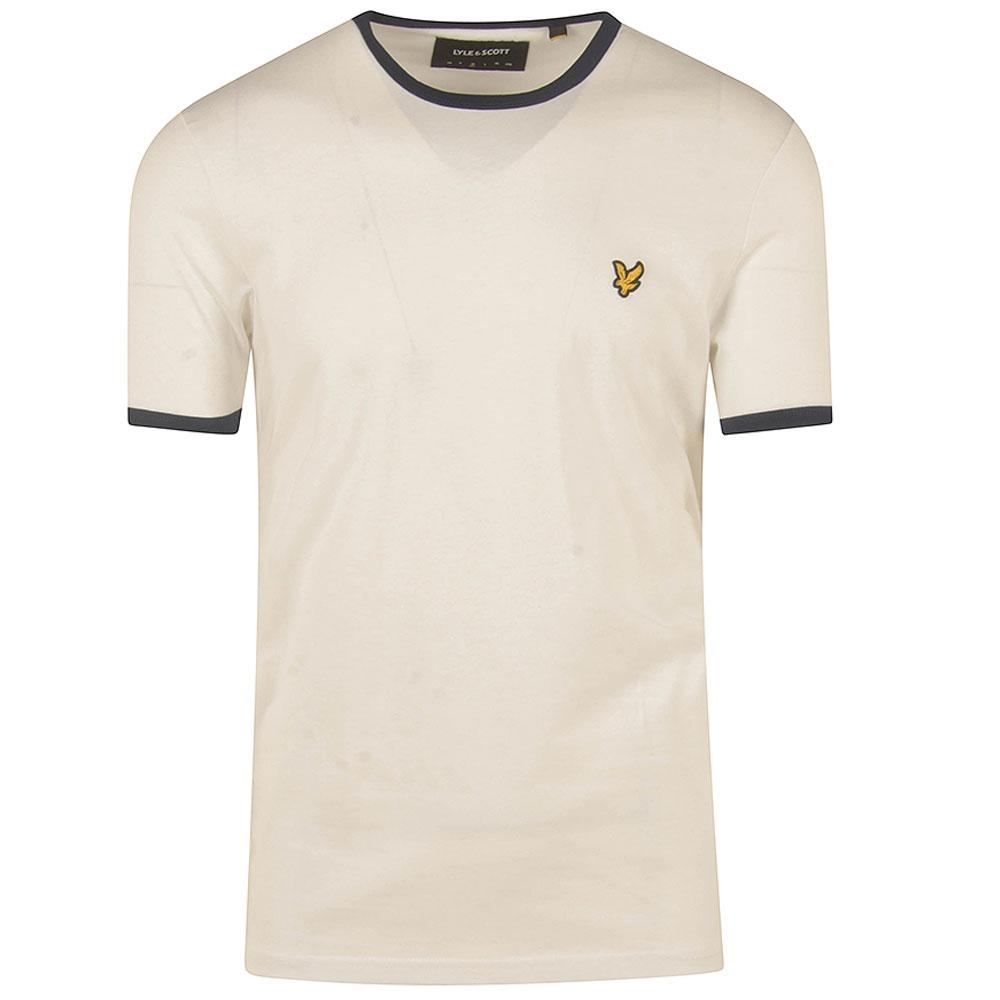 Ringer T-Shirt in White
