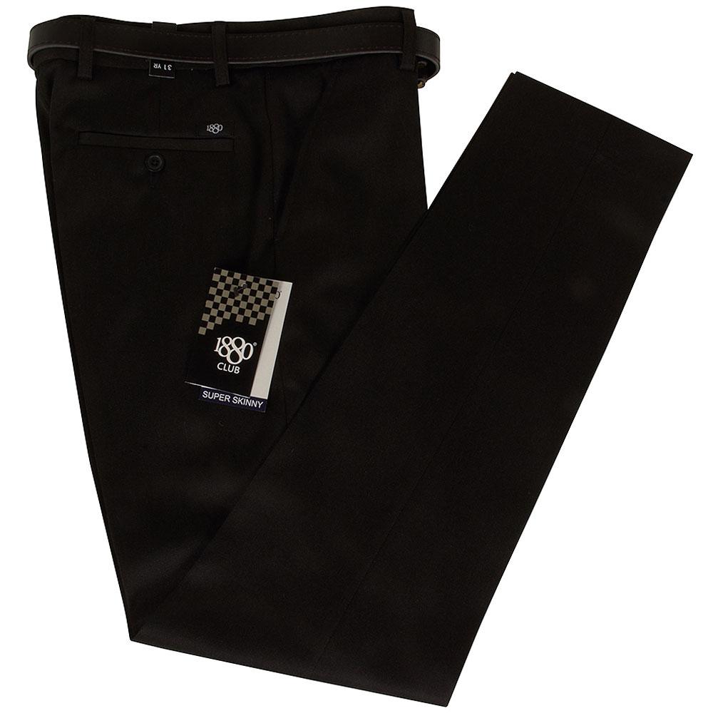 Boys Super Skinny Jnr School Trouser in Grey