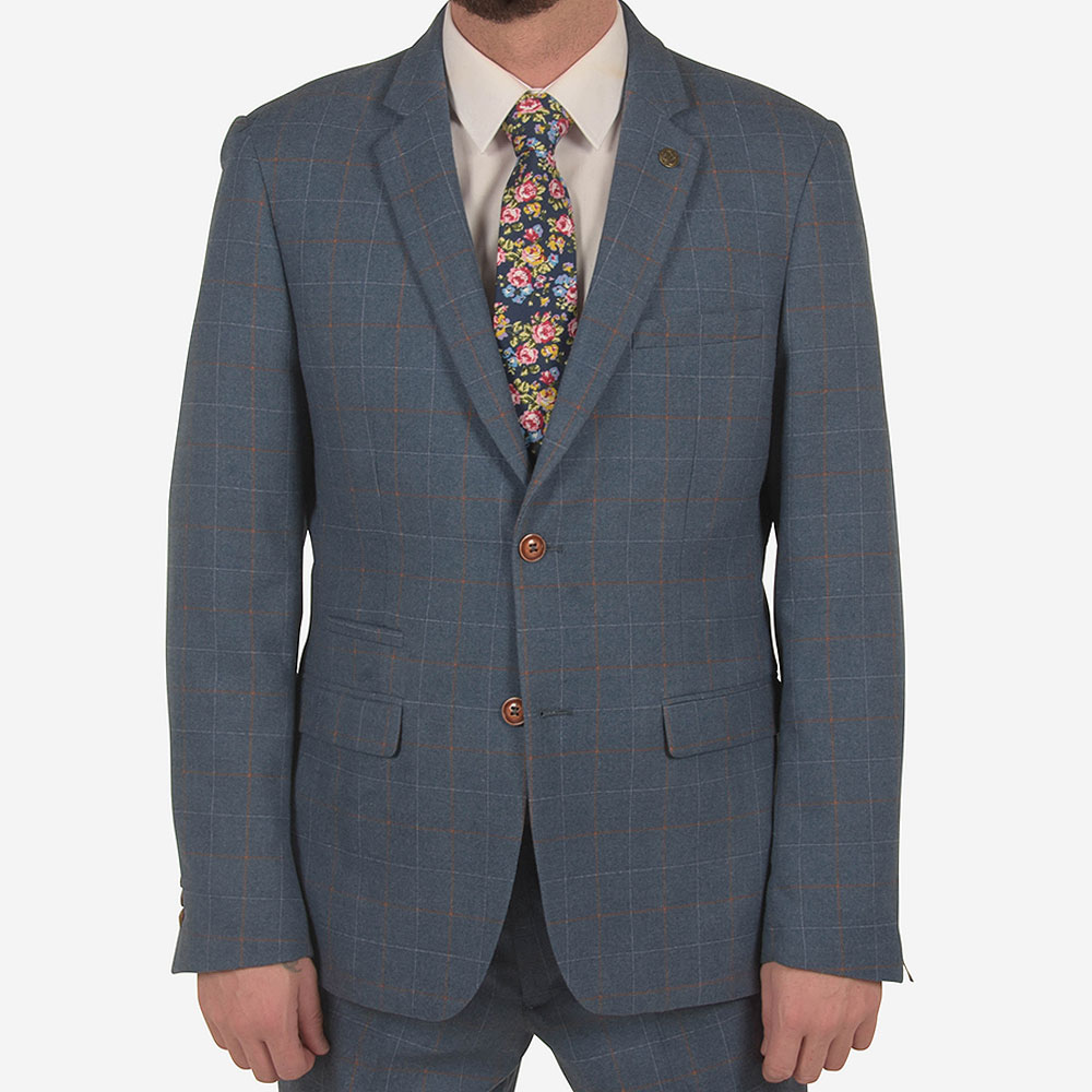 Matthew Suit Blazer in Blue