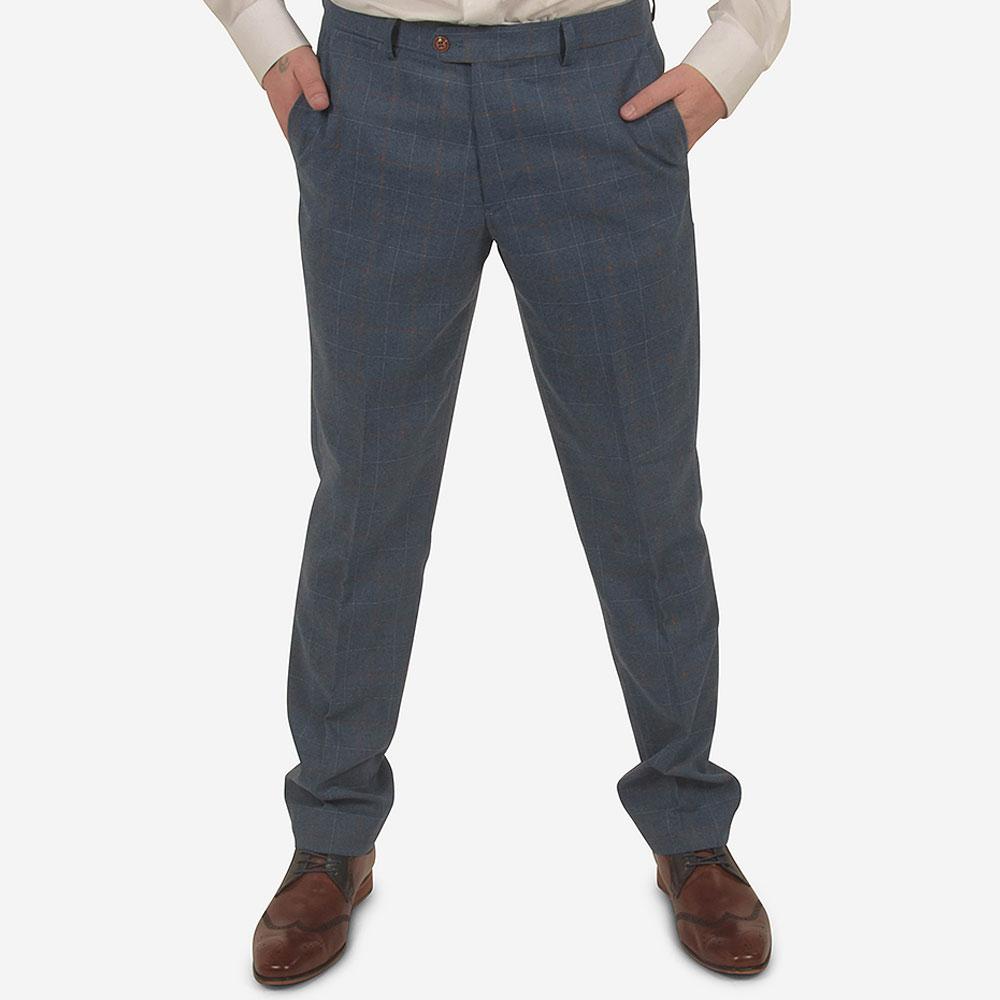 Matthew Suit Trouser in Blue