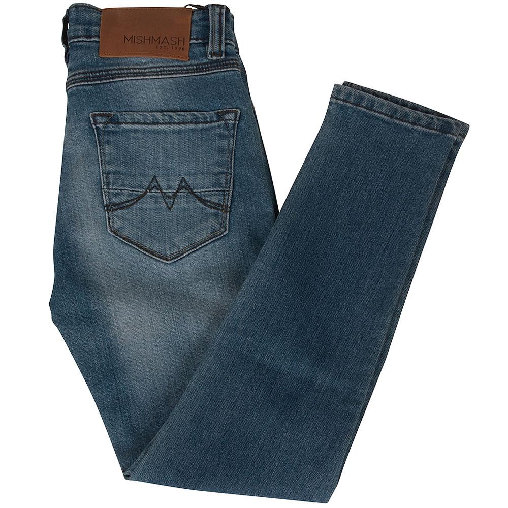 Rocco Skinny Jean in Stonewash