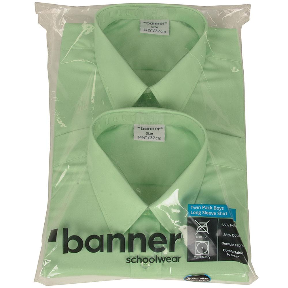 Boys Long Sleeve Shirt in Green