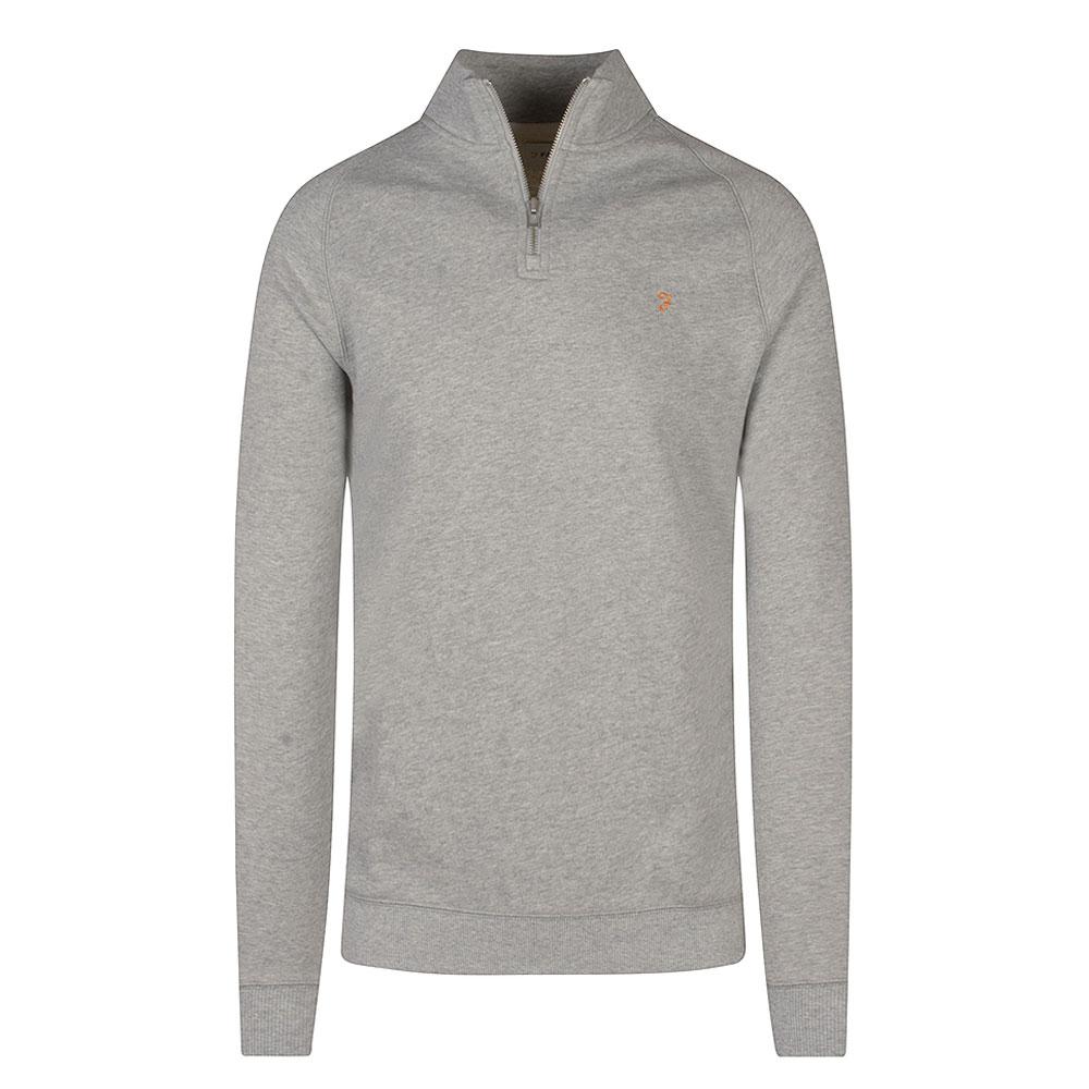 Jim 1/4 Zip in Grey