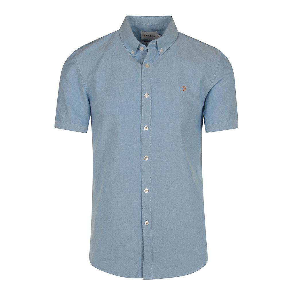 Brewer SS Shirt in Lt Blue