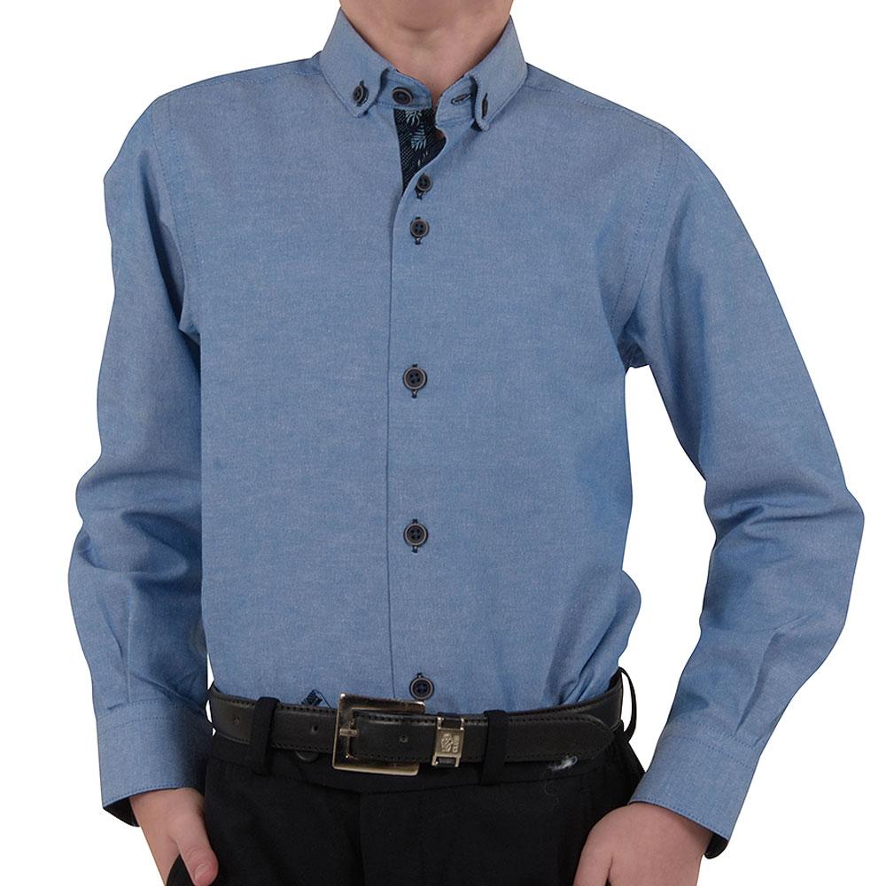 Henley Ben Shirt in Blue