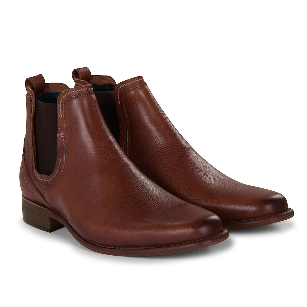Austin Chelsea Boot in Tumbled Tan