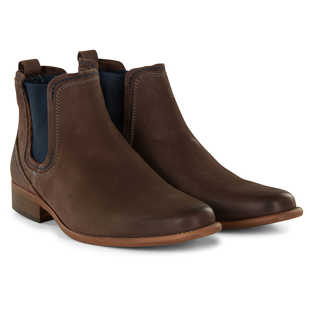 Austin Chelsea Boot in Charcoal