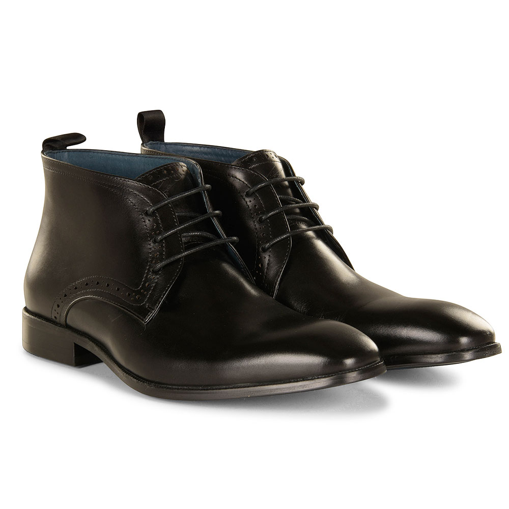 Loftus Ankle Boot in Black