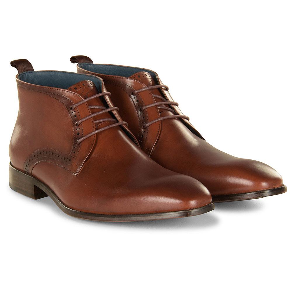 Loftus Ankle Boot in Tan