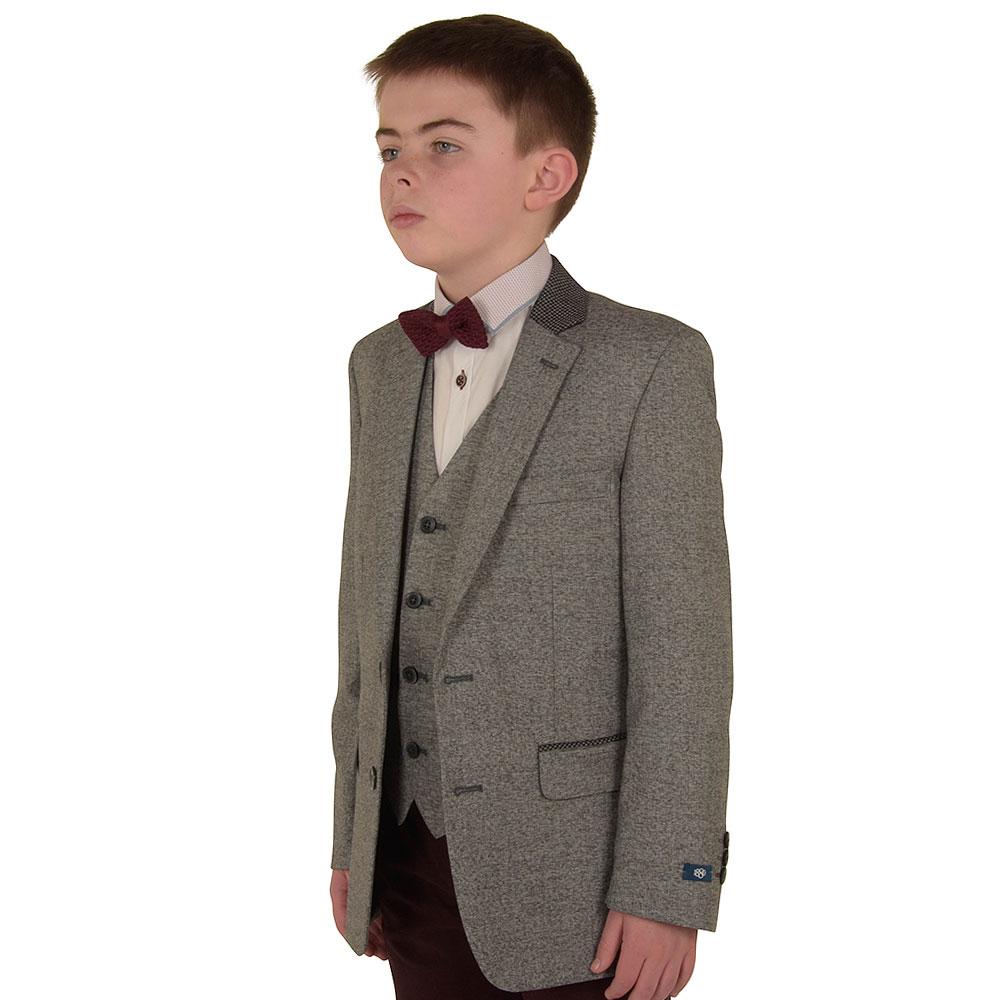 Boys Genaro Jacket in Grey