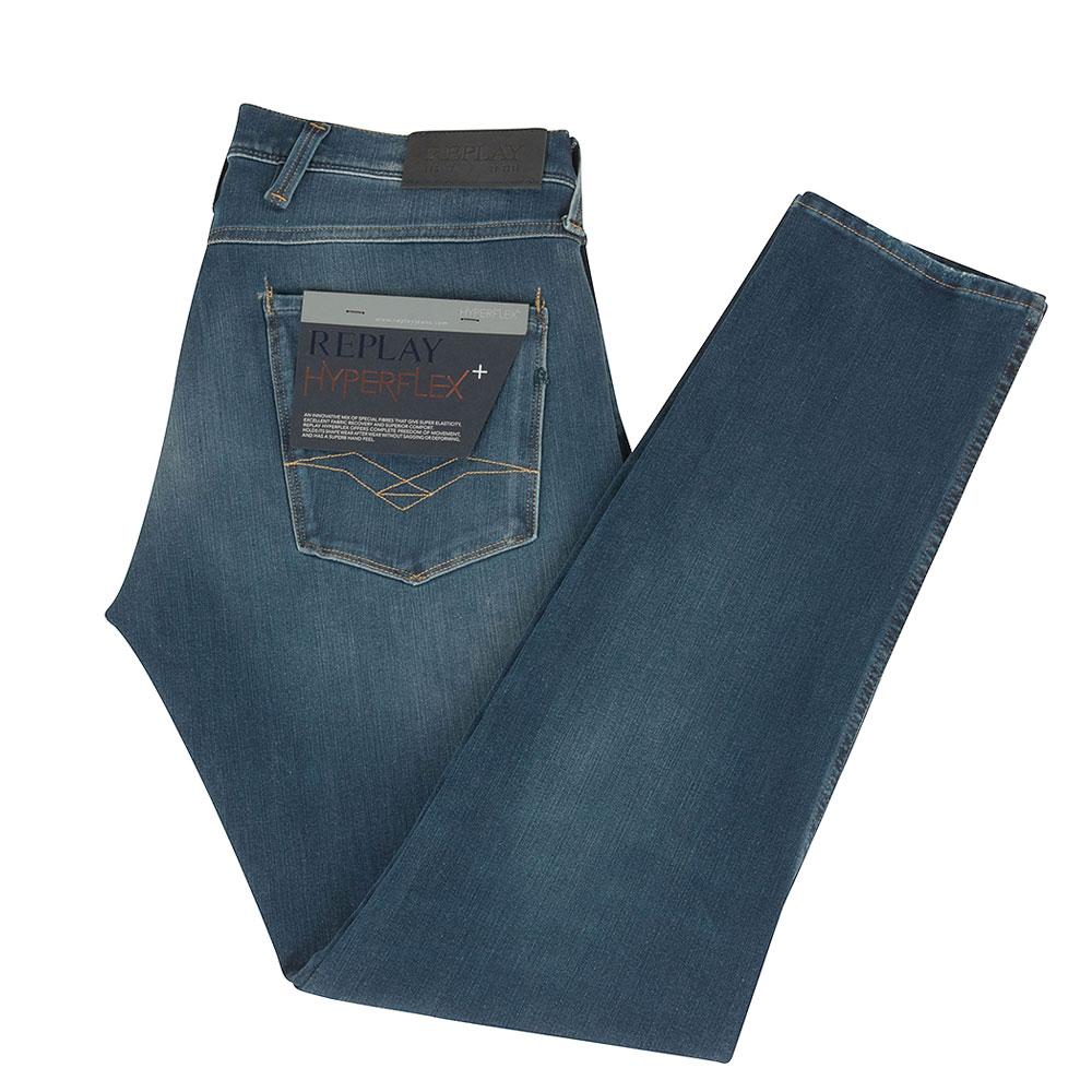 Anbass Hyperflex Jean in Blue