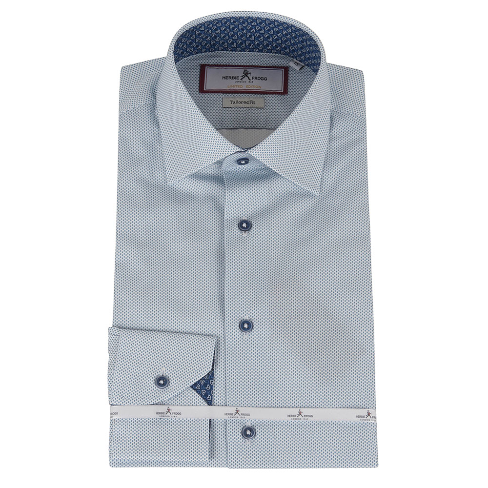 Tailored Fit Shirt in Blue