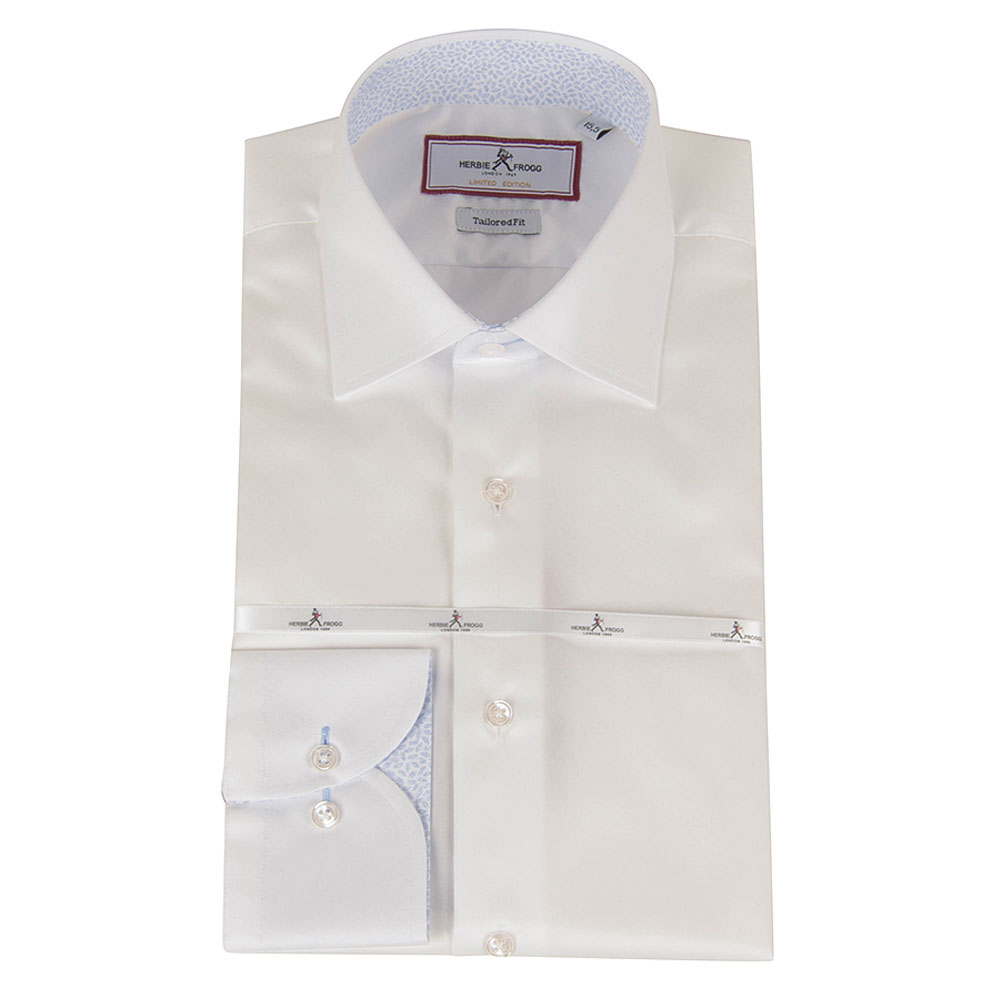 Tailored Fit Shirt in White