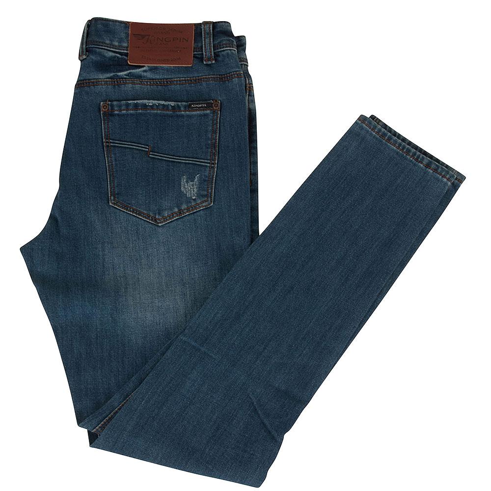 Fergus Skinny Jean in Blue