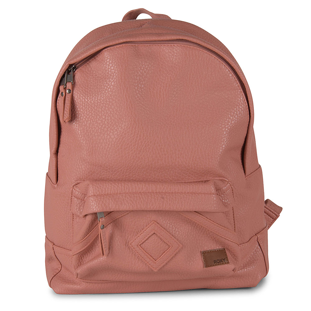 Wild Air Faux Leather Backpack in Pink