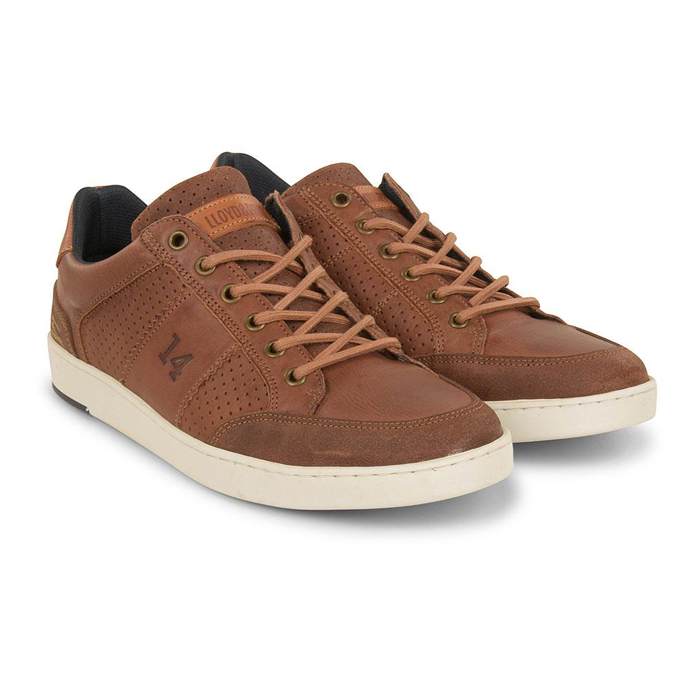 Whitesock Shoe in Tan