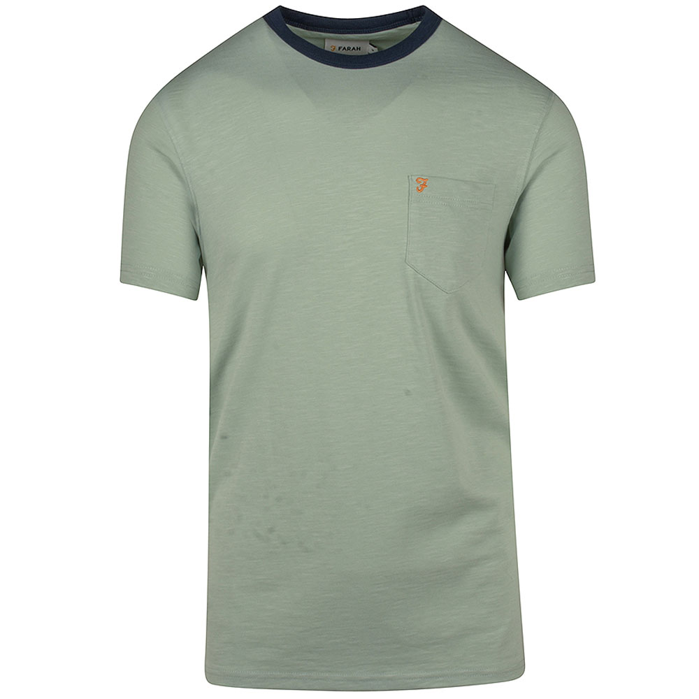 Groove SS Pocket T-Shirt in Green