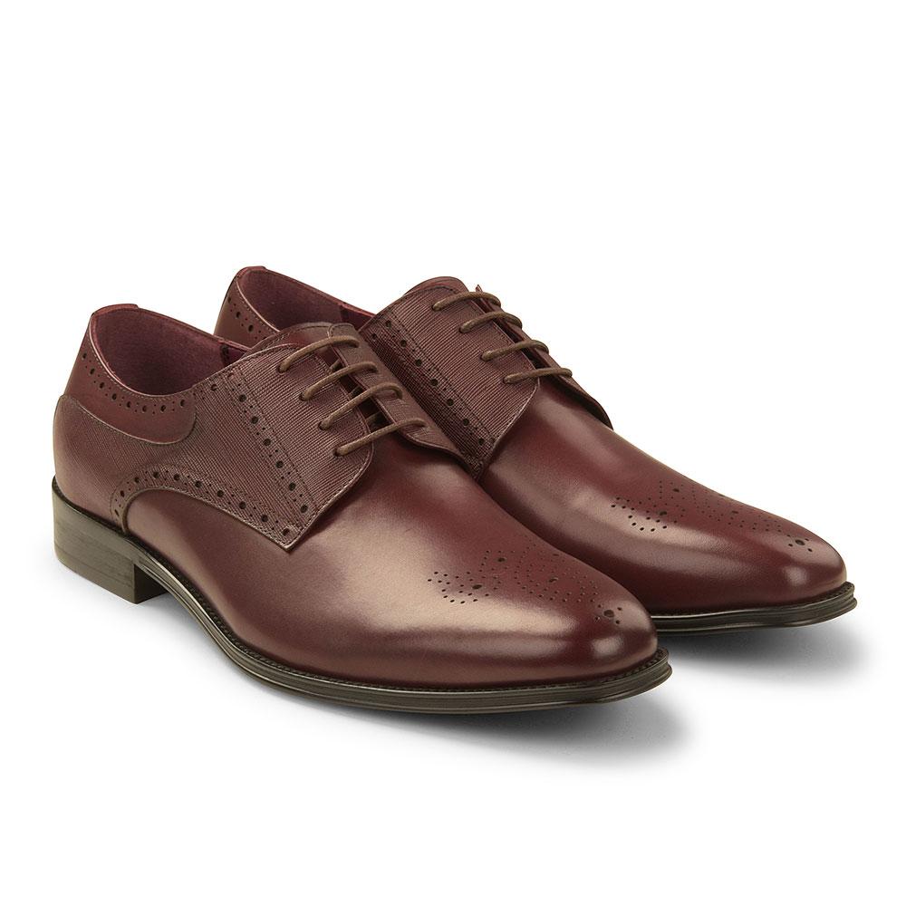 Jury Shoe in Burgundy