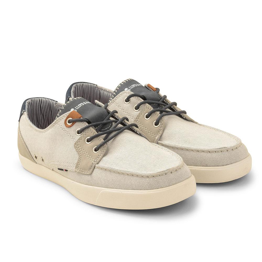 Porter Boat Shoe in Grey