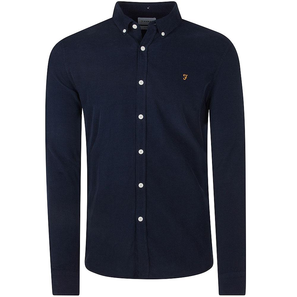 Fontella Cord Shirt in Navy