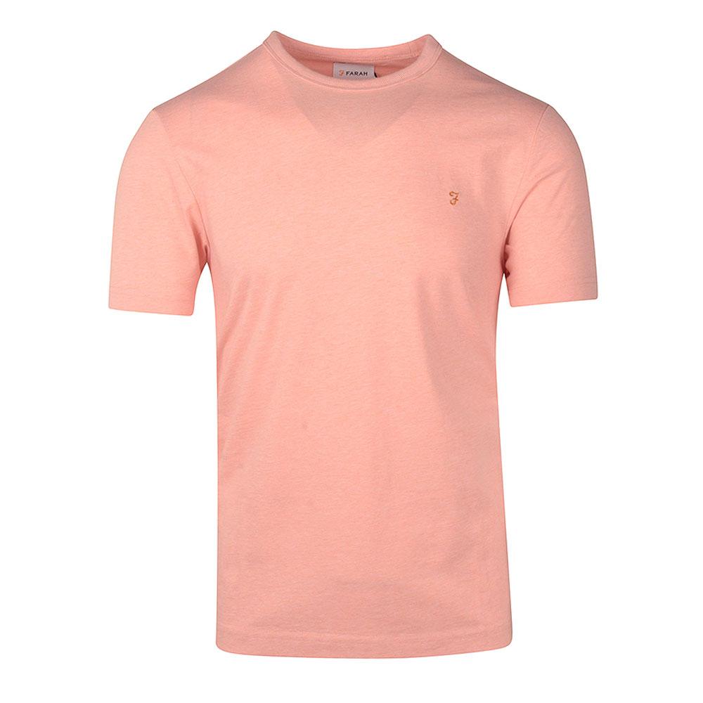 Denis SS T-Shirt in Orange
