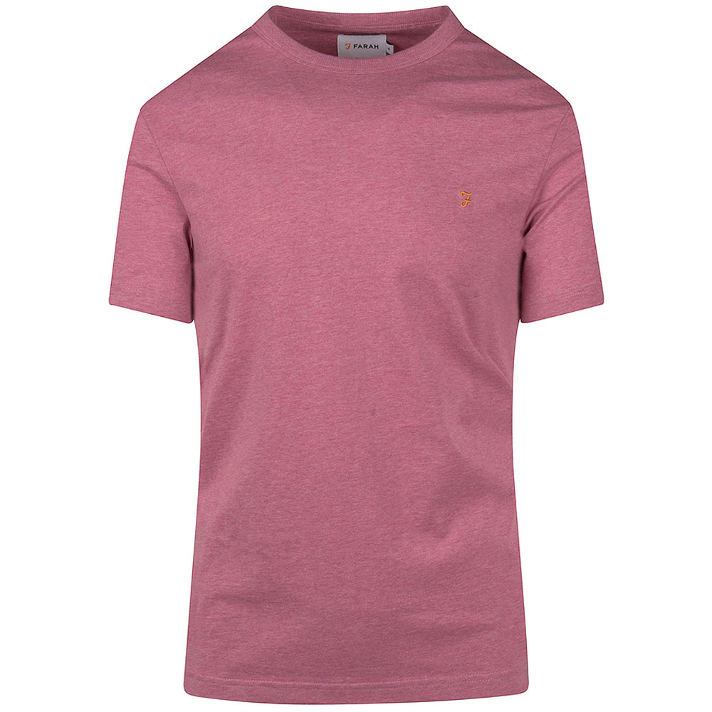 Denis SS T-Shirt in Pink
