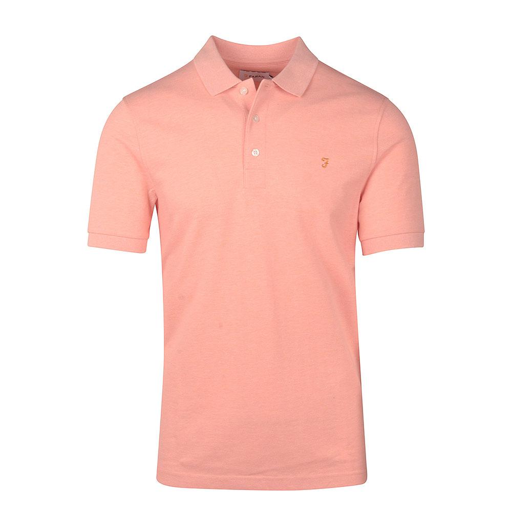 Blanes SS Polo Shirt in Orange