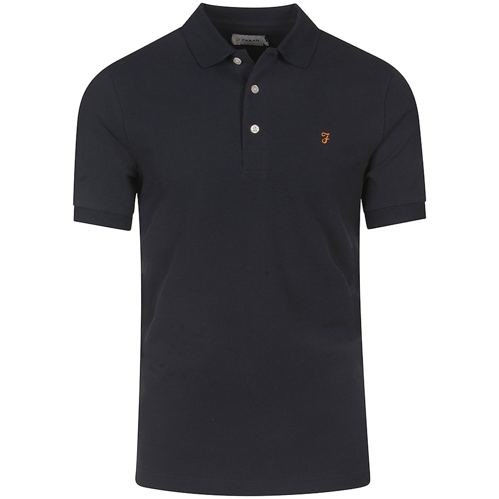 Blanes SS Polo Shirt in Navy