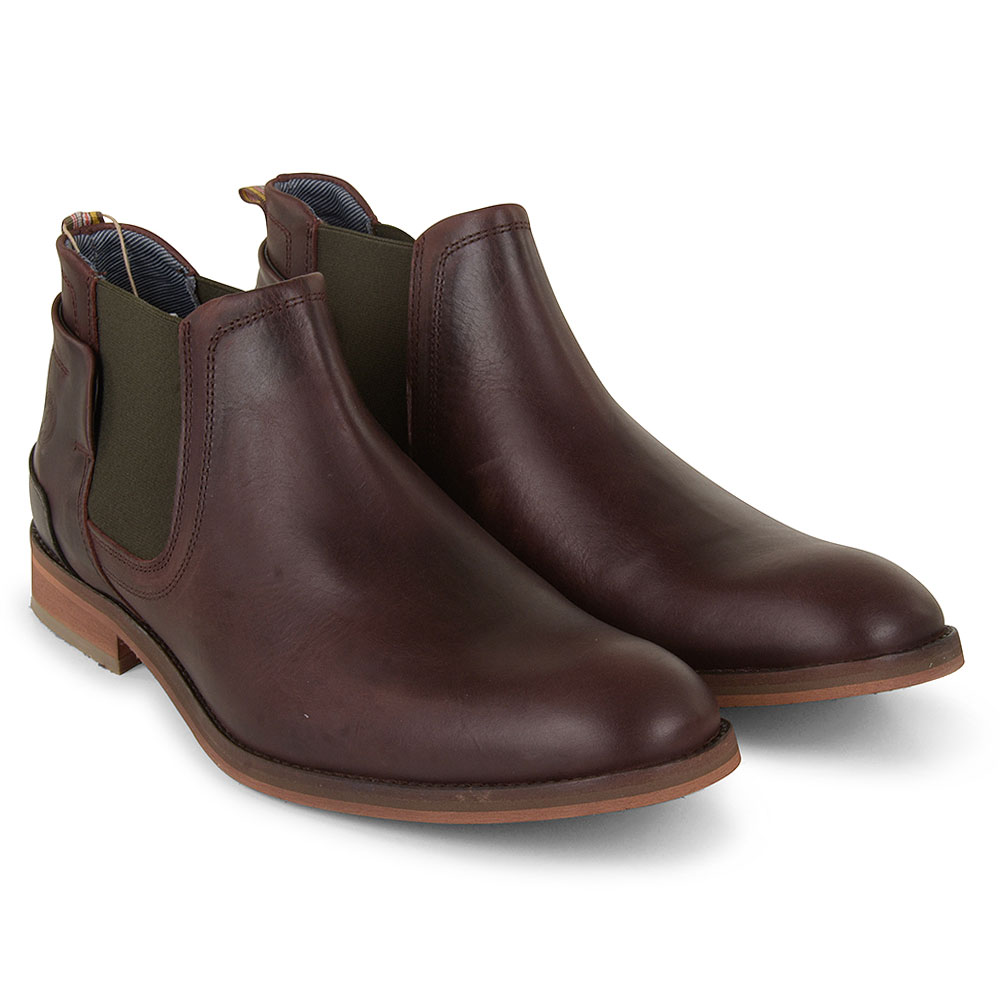Lenny Chelsea Boot in Brown