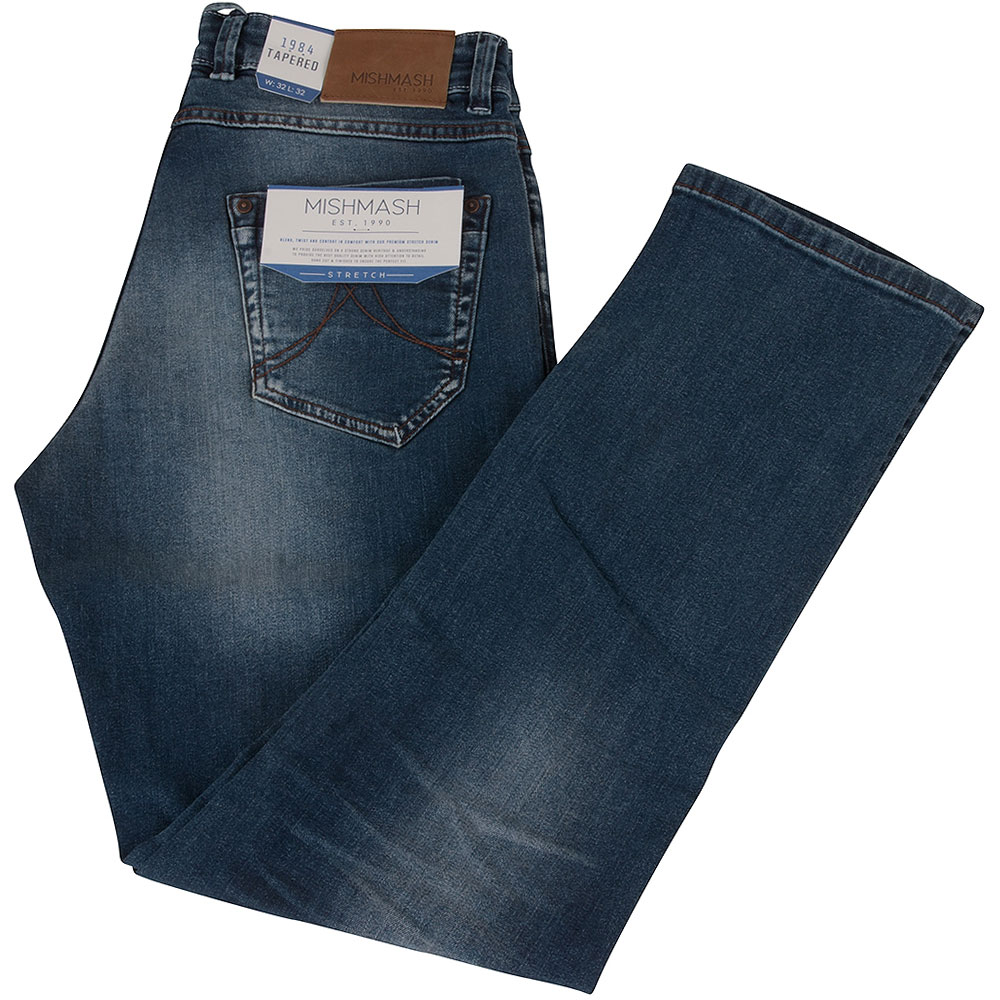 Armstong Regular Fitting Jeans in Lt Stone