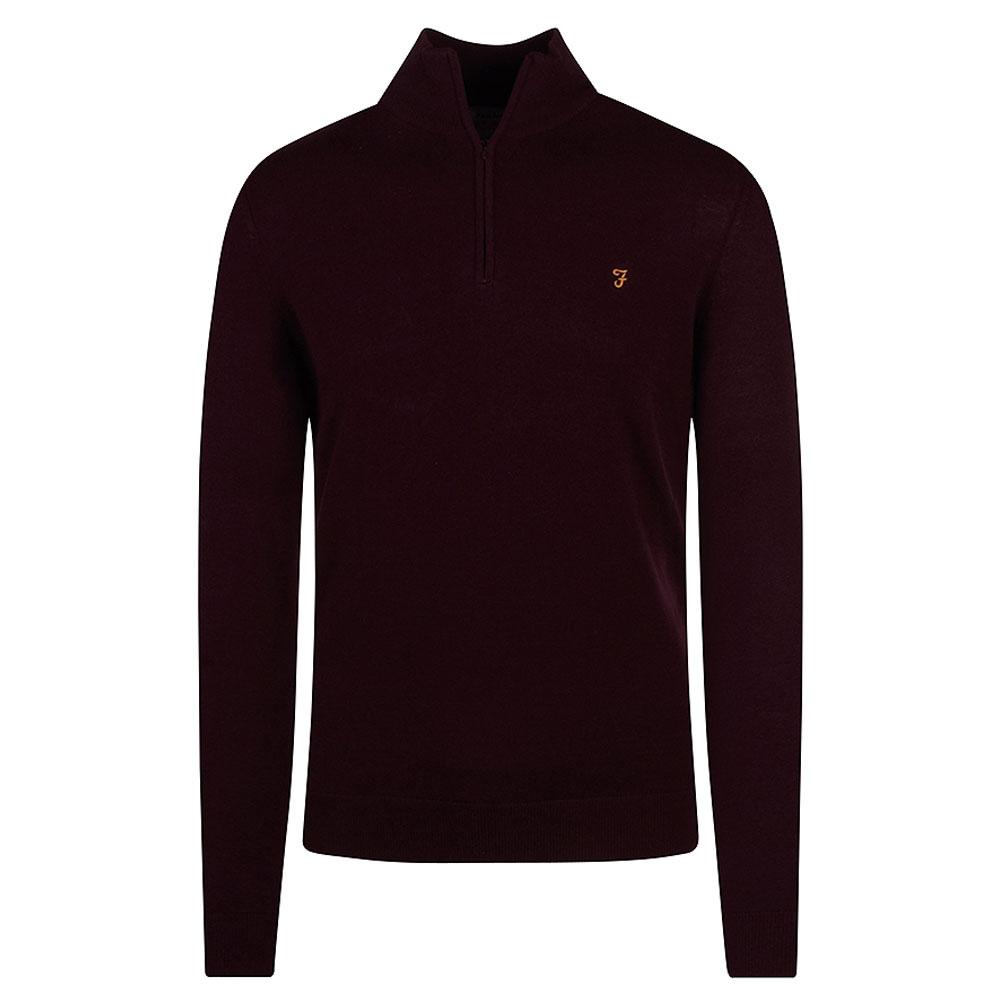 Redchurch Sweatshirt in Burgundy