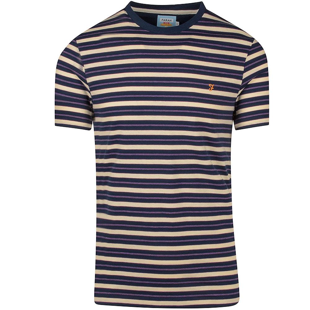 Farah Mansour T-Shirt in Navy