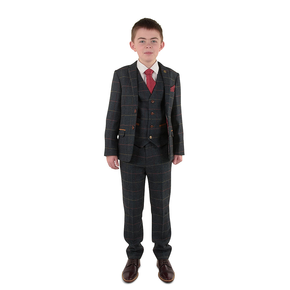 Boys Eton Suit in Blue