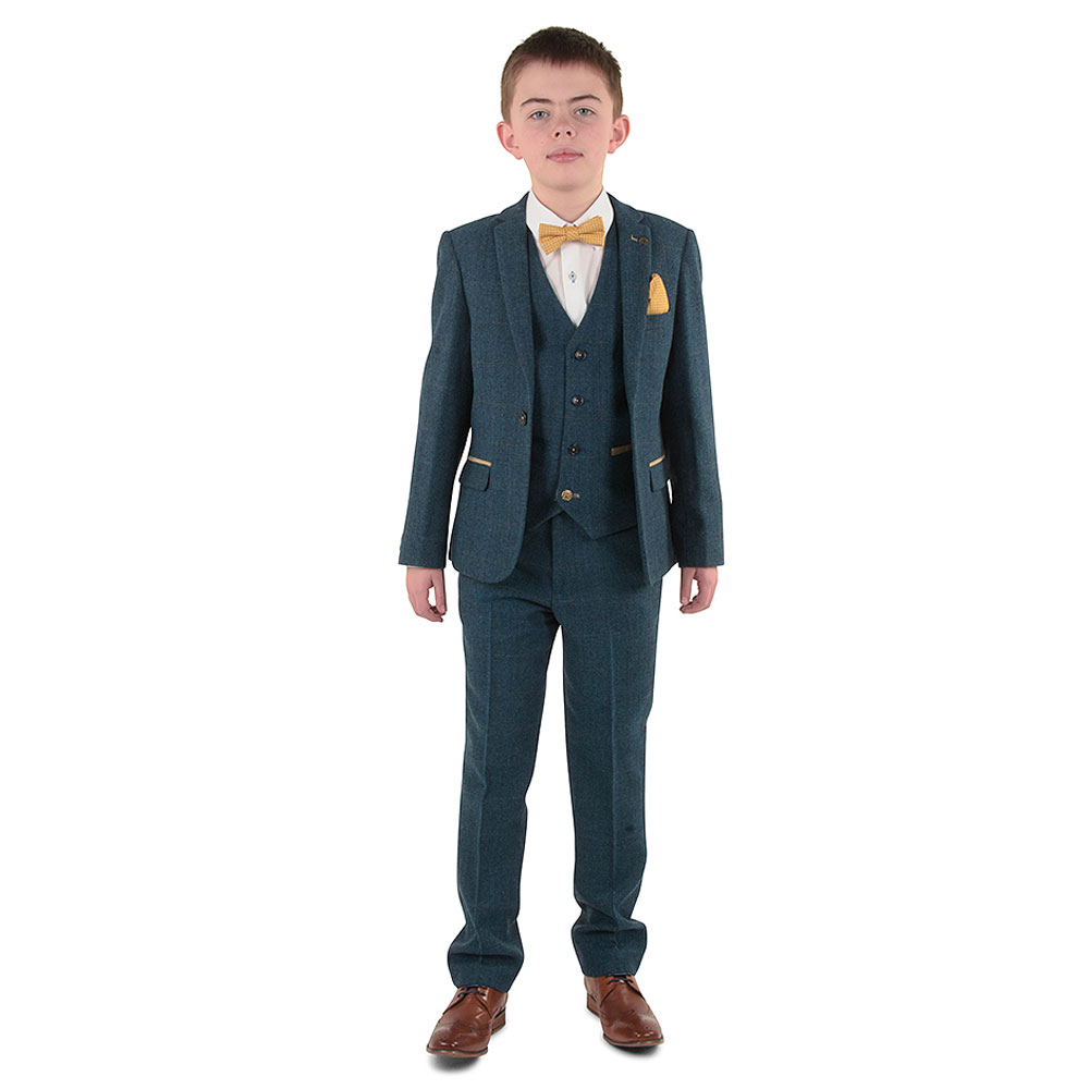 Boys Dion Suit in Blue