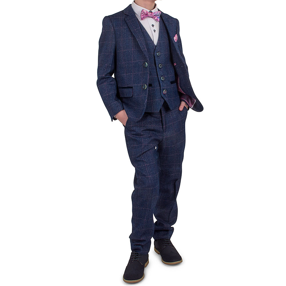 Boys Harry Suit in Indigo