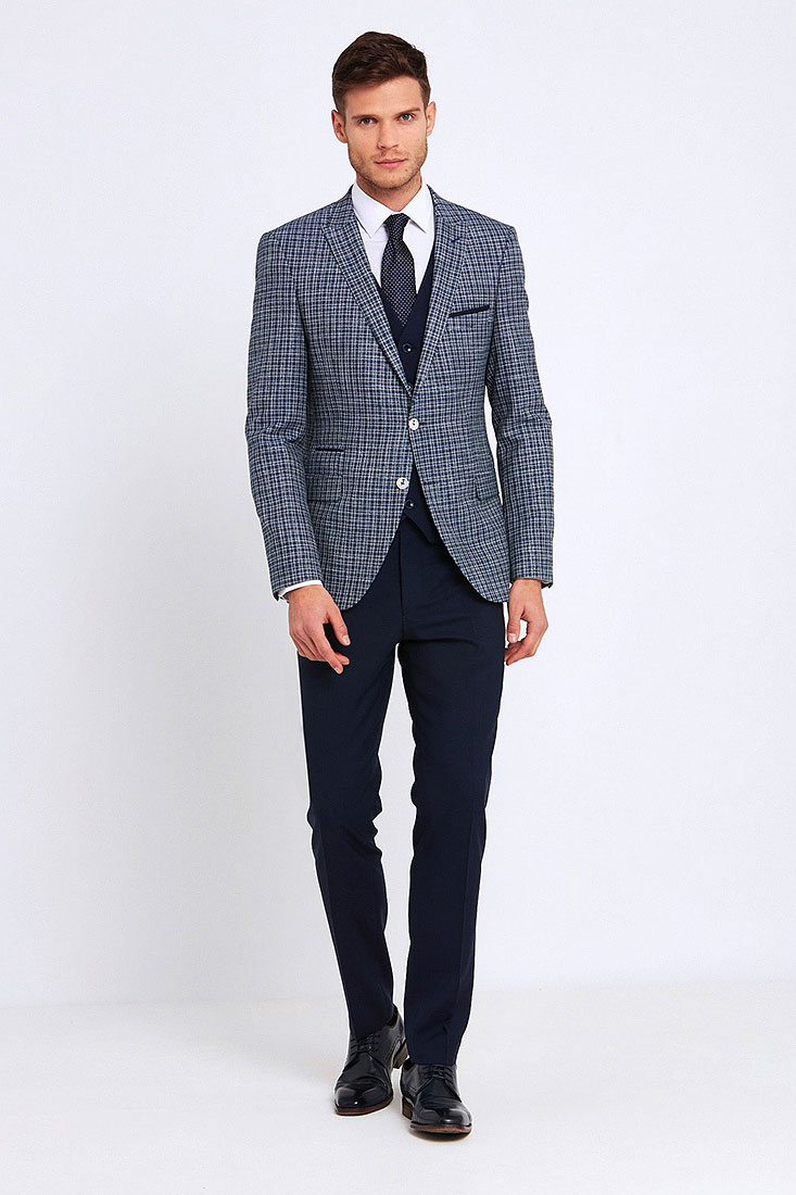 Darcy Suit in Navy