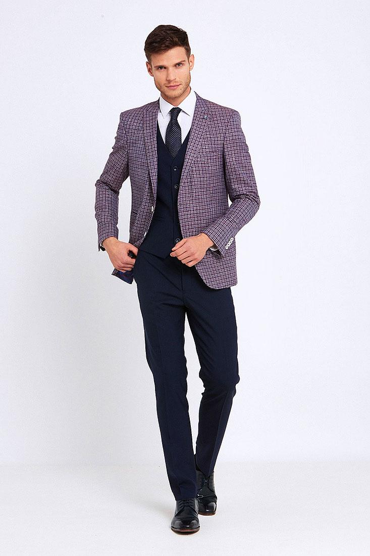 Darcy Suit in Wine