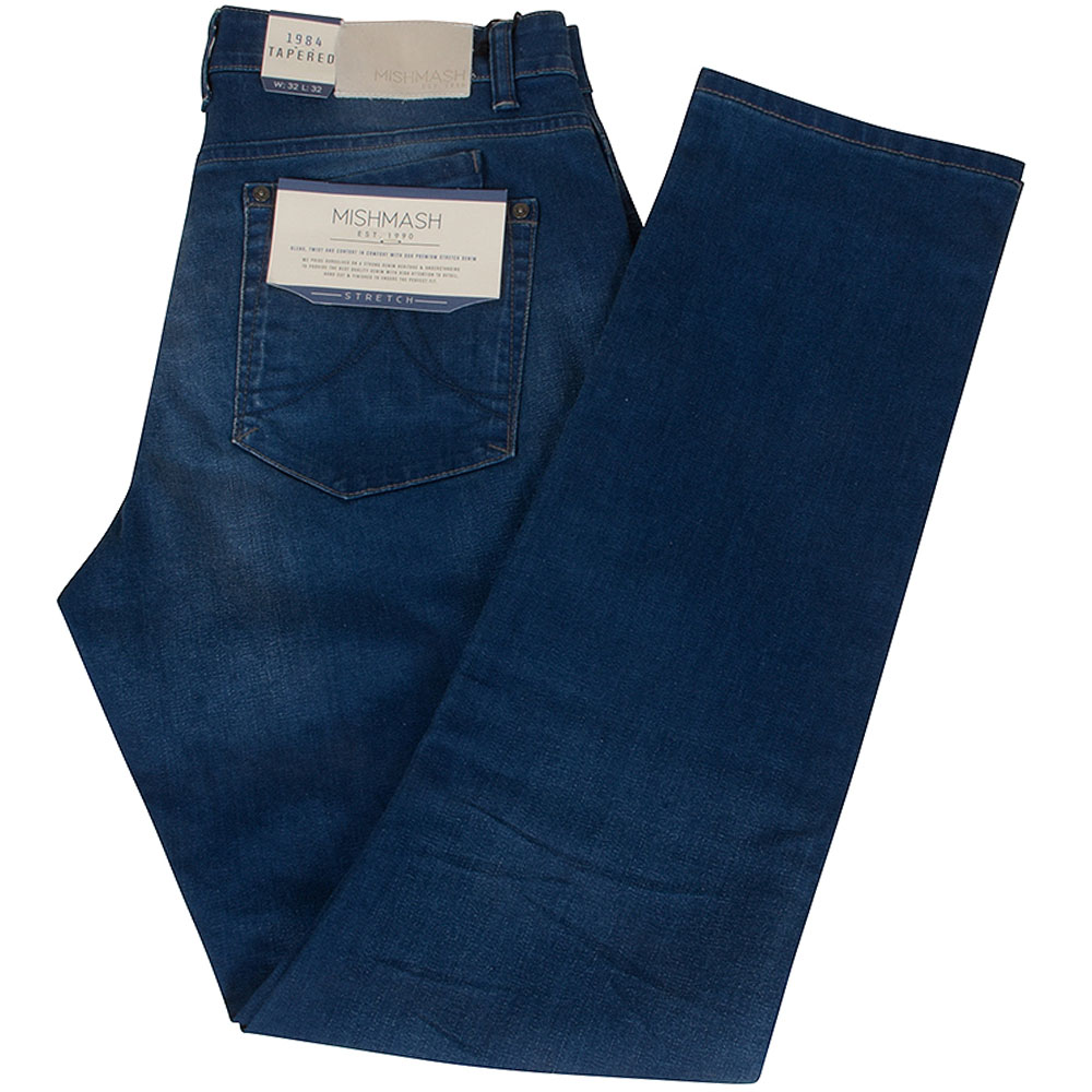 1984 Tapered Jeans in Mid Stn